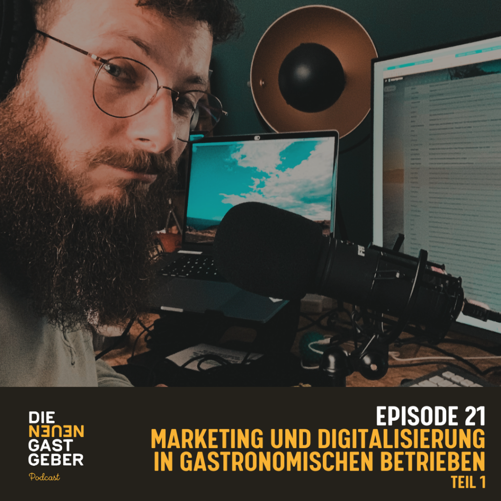 Episode 21 - Digitalisierung in der Gastronomie