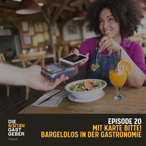Episoden Cover - Bargeldlos in der Gastronomie